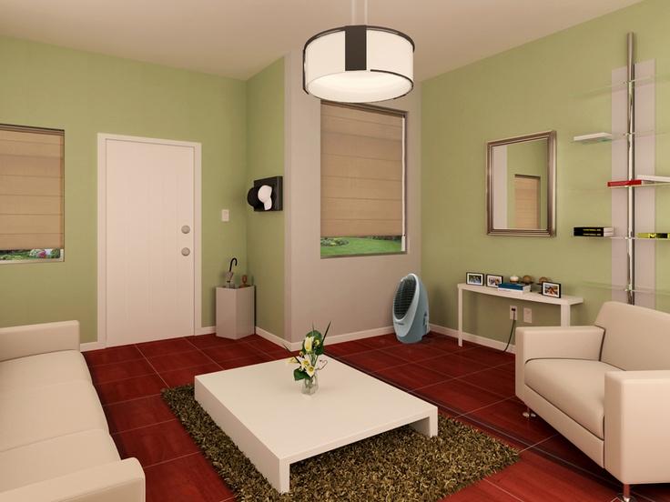 Combina pisos oscuros con paredes claras para dar la for Combinar colores de pisos y paredes