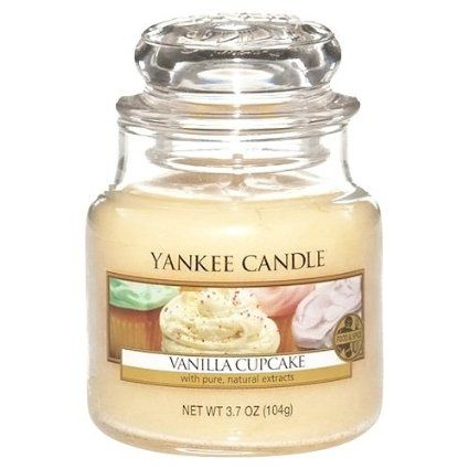 YANKEE CANDLE - 1093709 - Bougie parfumée gâteau à la vanille (vanilla cupcake): Amazon.fr: Cuisine & Maison