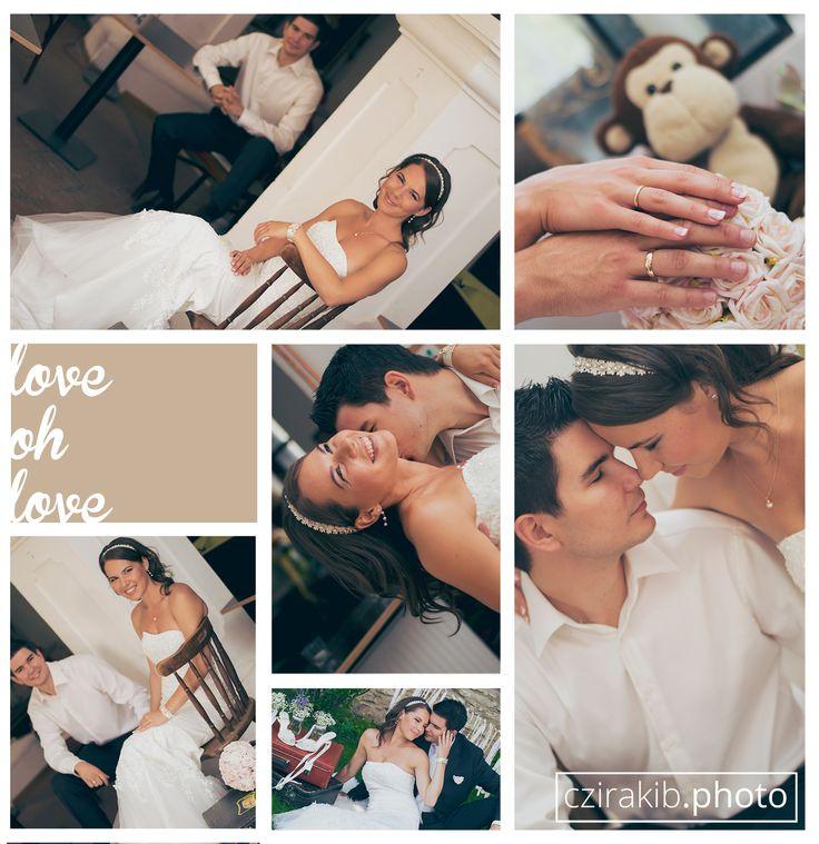 Petra és Tamás esküvői fotózása
