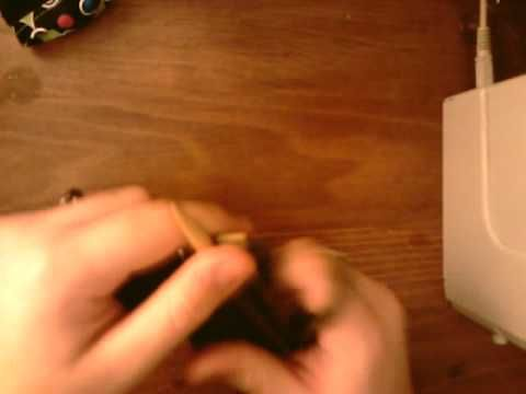 How to knit fingerless gloves with thumb gusset PT2