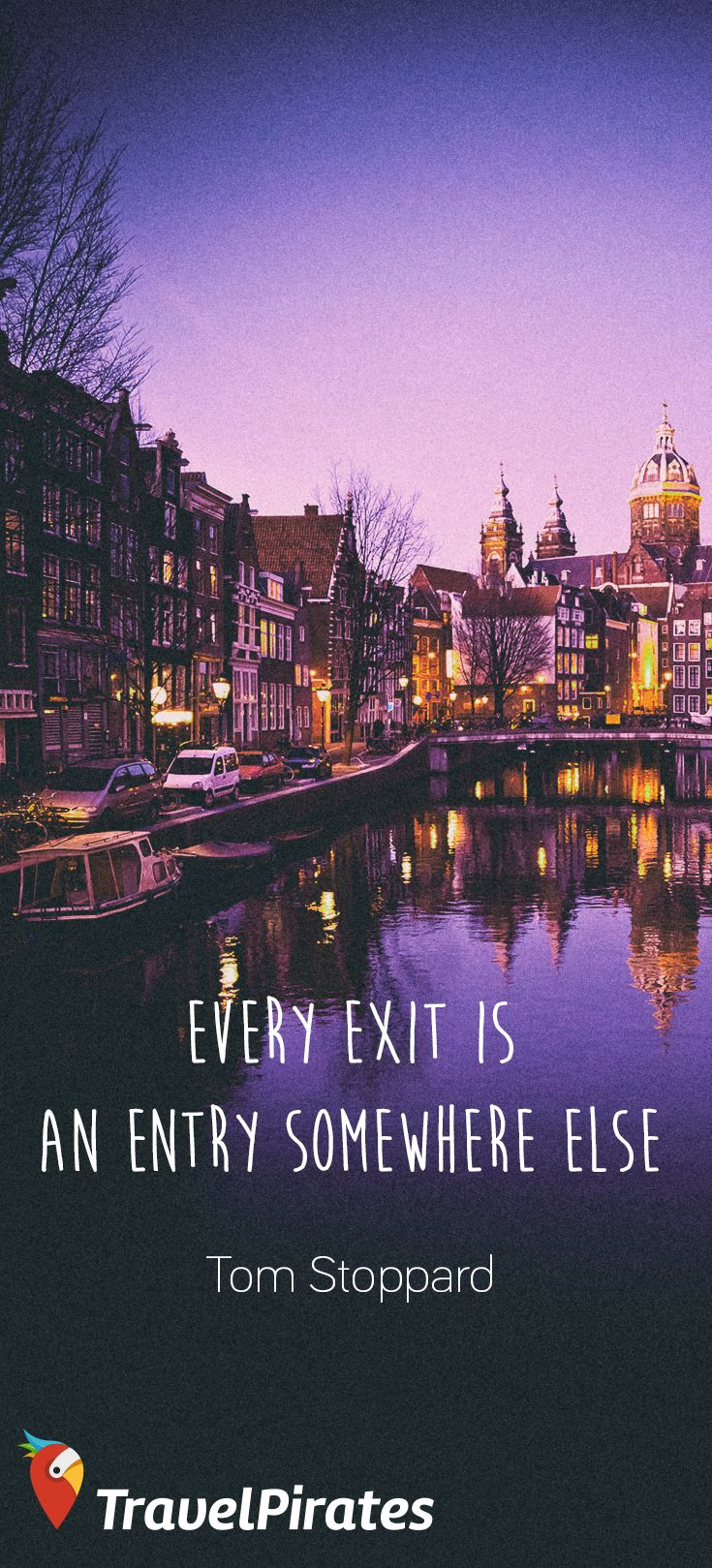 Amsterdam Quotes Extraordinary 49 Best Travel Quotes ⭐ Images On Pinterest  Journey Quotes