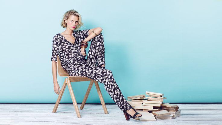Collection Printemps-Été 2015 - Combinaison TAMARA, Sandales IRINA #123paris #mode #fashion