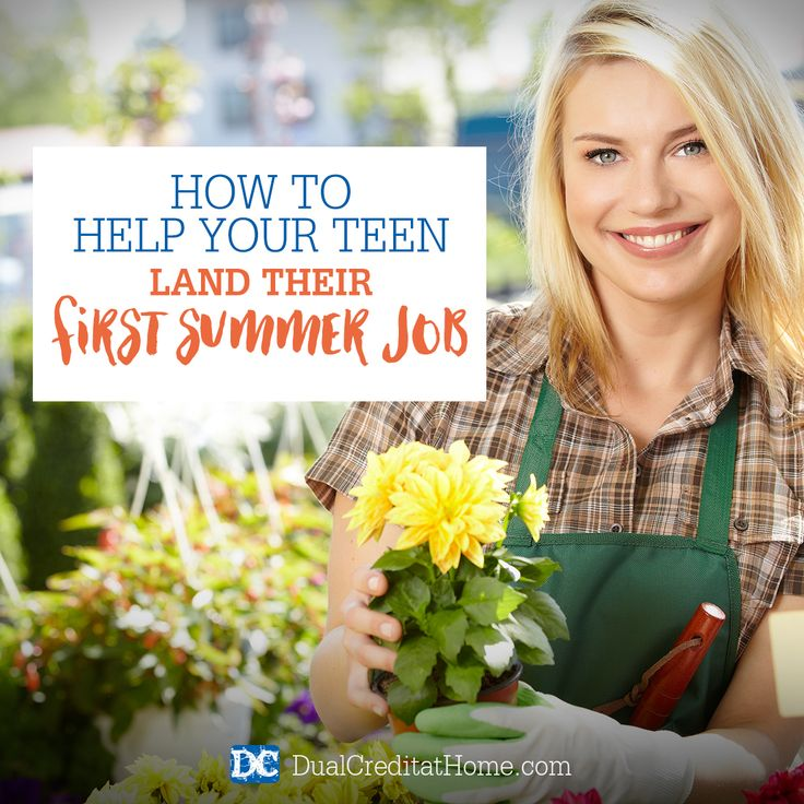 What are some good summer jobs for students?