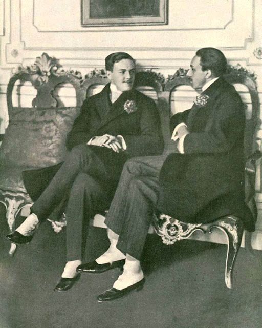 Royalty & Pomp: THE KINGS  D. Manuel II and Alphonso XIII of Spain.
