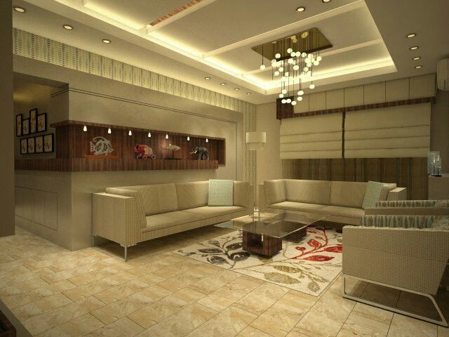 Living Room Eve Interior Design Amman Jordan