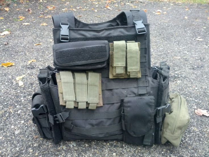 Condor MPC MOLLE Tactical Assault Vest, with 9 pouches - Pristine condition! #Molle