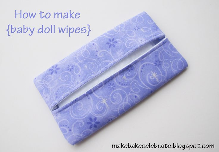 MBC: How to make {baby doll wipes}