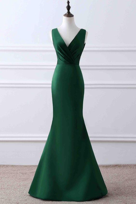 Charming Prom Dress,Long Prom Dress,Mermaid Prom Dress,Simple Formal
