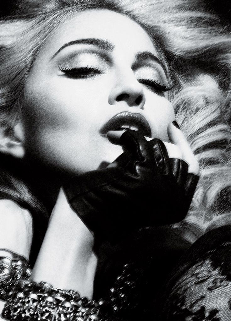 Madonna on the Cover of Interview May 2010