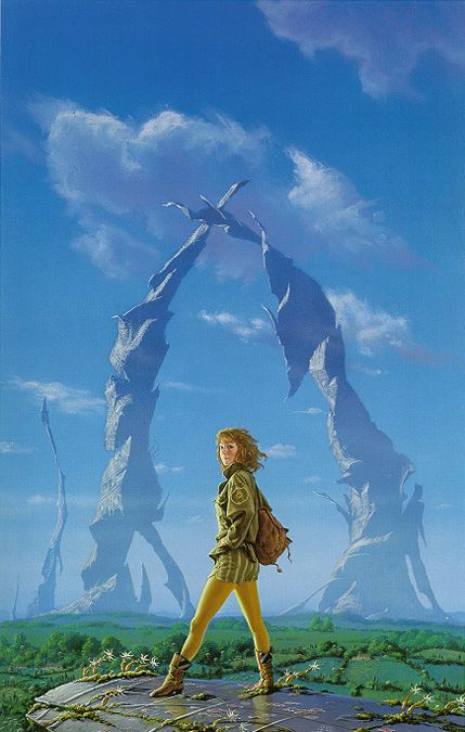 Cover art for Isaac Asimov's Second  Foundation - Michael Whelan