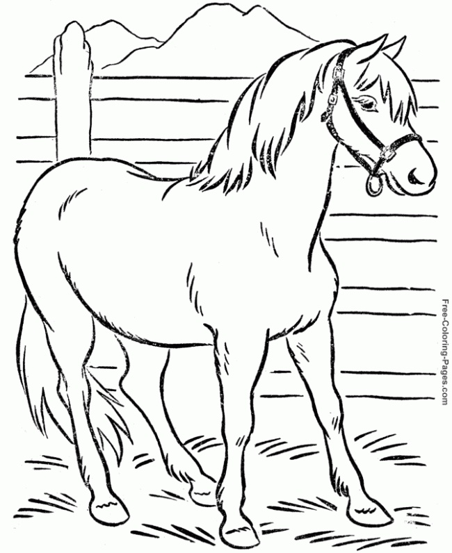 horse coloring pages free printable | Coloring Book Pages for Boys1 e1368007526224 Coloring Book Pages 2013