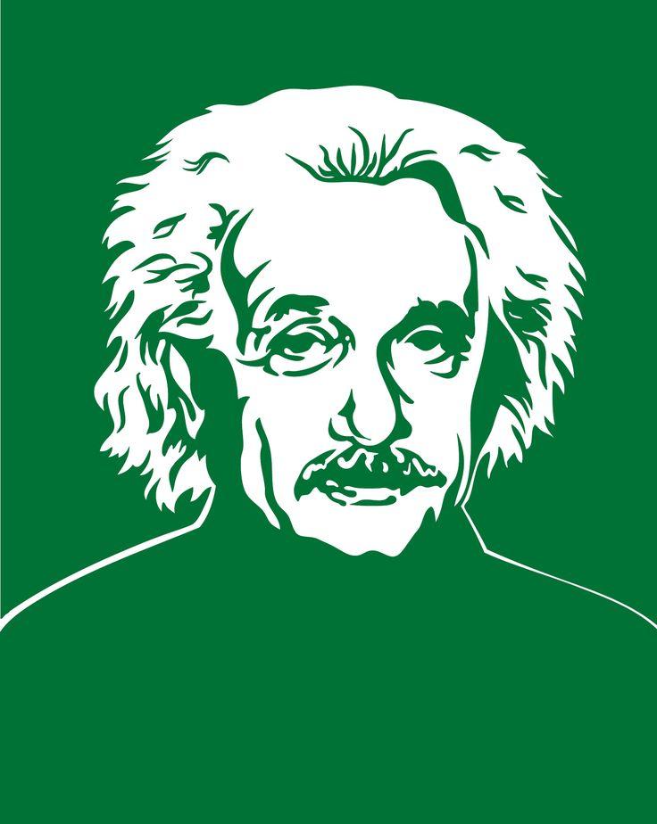 Sticker Albert Einstein