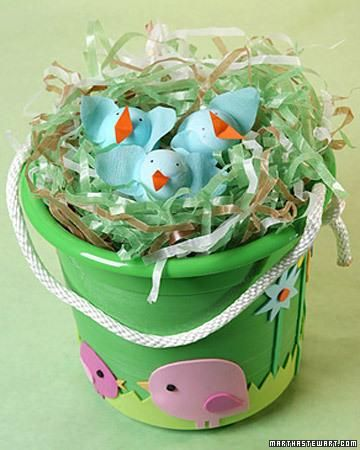 Easter Bucket How-To
