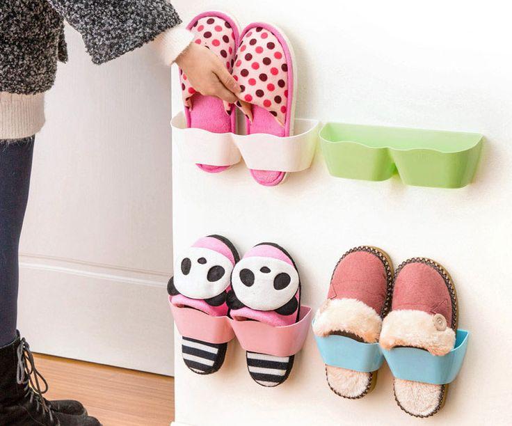 Ни Одного Гостиная Обуви Стойки Ванная Комната настенный Хранения Полки, Стойки Для Обуви Стойку, Вертикальное Хранение купить на AliExpress