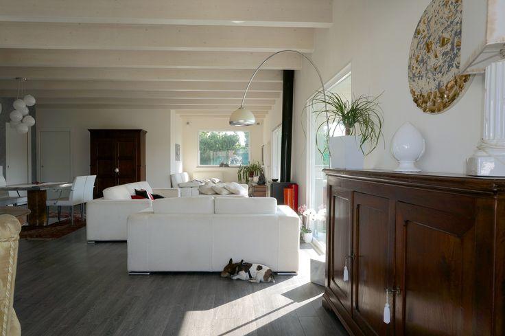 Casa in #legno #ecologica e #risparmio energetico con elevato #comfort abitativo a #Roma