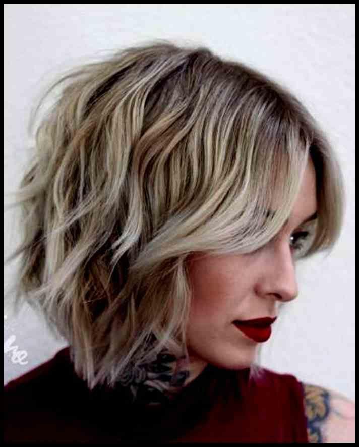 Wunderbar Moderne Frisur Schulterlang 2019 Brunette Rachel 2 0