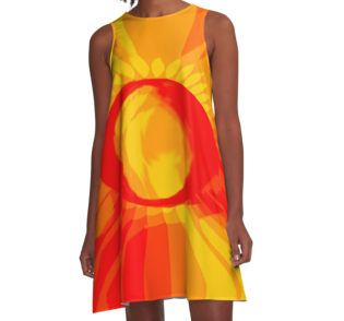Sunflower A-Line Dress available at http://www.redbubble.com/people/chrisjoy/works/2284094-sunflower?asc=u&p=a-line-dress