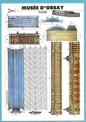 Musee D'Orsay Paris (CW19-1)