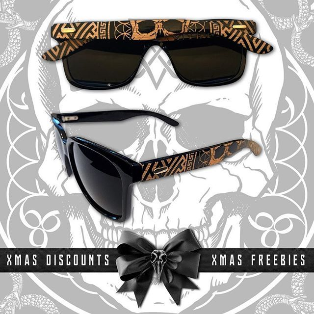 Limited to 100 pairs & selling fast, our Bamboo engraved wayfarers are only £24.99 or FREE with all orders over £70!  30% OFF w/ code: XMAS30 ☃️ FREE Bandana w/ orders £50+  FREE Tee w/ orders £60+  All the above FREE w/ orders £120+  www.crmcclothing.co  #xmas #christmas #xmasdeals #christmasdeals #streetwear #skatewear #fashion #fashionblog #fashionblogger #retailtherapy #hohoho #freebies #freestuff #xmassale #christmassale #streetfashion #dope #picoftheday #xmasparty #fun #discountcode