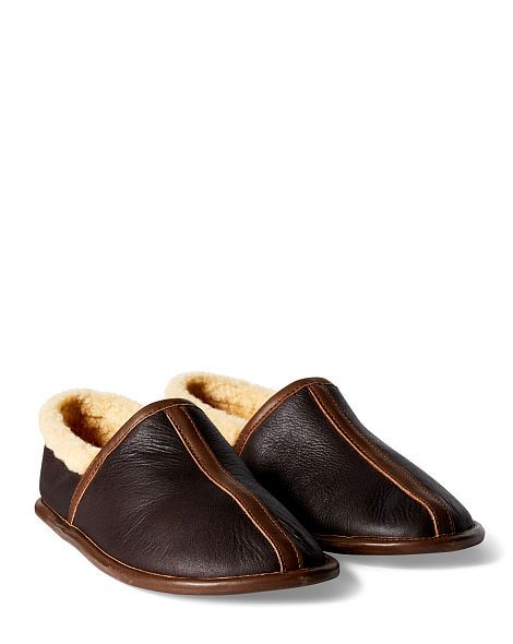 Shearling Camp Shoe - RRL Casual Shoes - RalphLauren.com