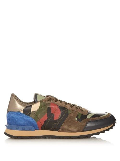 Rockrunner Camouflage-print Trainers Valentino  Source: http://www.closetonthego.com/e-shop-product/169880/rockrunner-camouflage-print-trainers/ © Closet On The Go