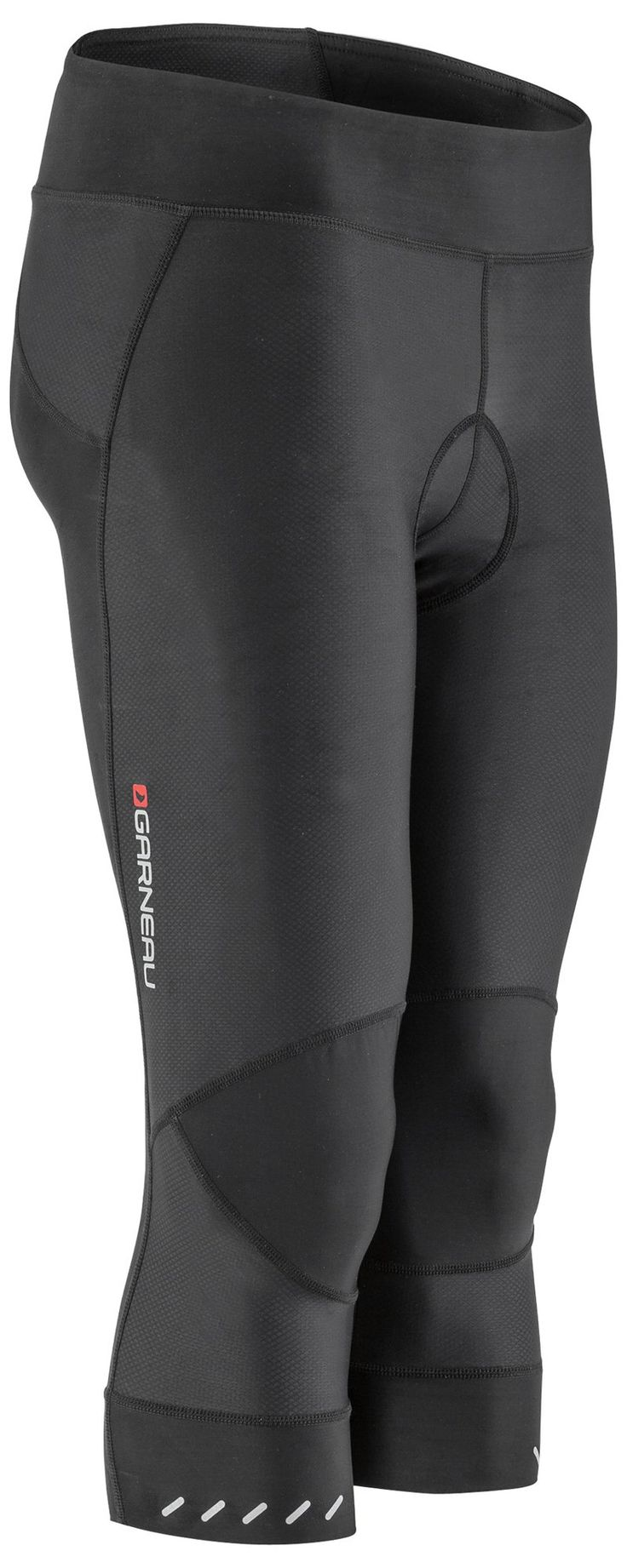 Louis Garneau - Women's Optimum Cycling Knickers with Padded Chamois, Black, XXL. The AirSport chamois reduces chafing and pinching, delivering a smooth transition from one position to another. It also benefits from an antibacterial treatment that fights the effects of retained moisture and bacteria growth. The ergonomic fit supports your body while in motion, to help you perform better every time you pull them on. Optimal fabric choice gives you the perfect amount of stretch, with a…