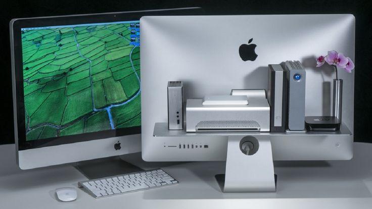 Kickstarterで資金調達中、シンプルな美しさと最高レベルの耐荷重性を兼ね揃えたiMac・Appleディスプレイ専用の収納棚「FLOAT Shelf」。幾何学・重力を利用し、無駄のない計算されたデザインが特徴。サポート部品不要で取り付けも簡単。