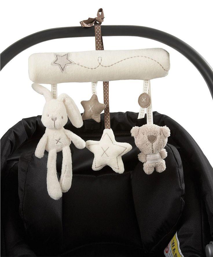Кролик ребенка музыки висит кровать безопасности плюшевые игрушки колокольчик многофункциональный плюшевые игрушки коляска мобильные подарки бесплатная доставка купить на AliExpress