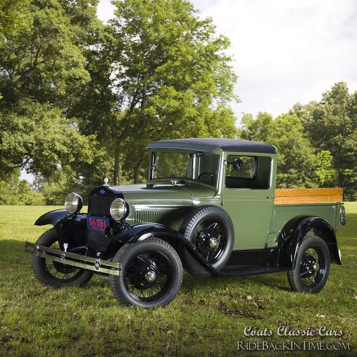 Henry 1930 ford model a pickup vintage car for weddings and special occasions from