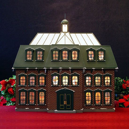 wood advent calendar house - Google Search