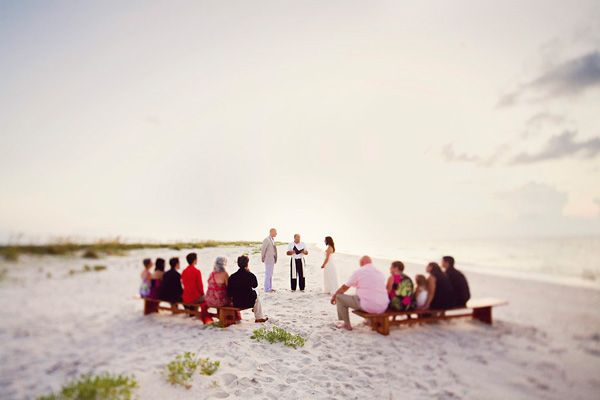 Real Weddings: Amanda & Tyler's $3500 Florida Beach Ceremony with 12 Guests