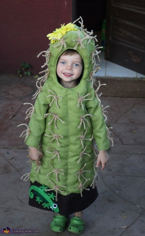 The Little Cactus - Homemade Halloween Costume
