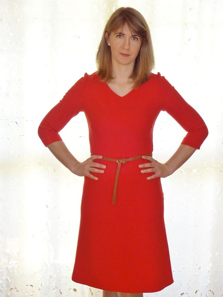 Wełniana sukienka; wool dress