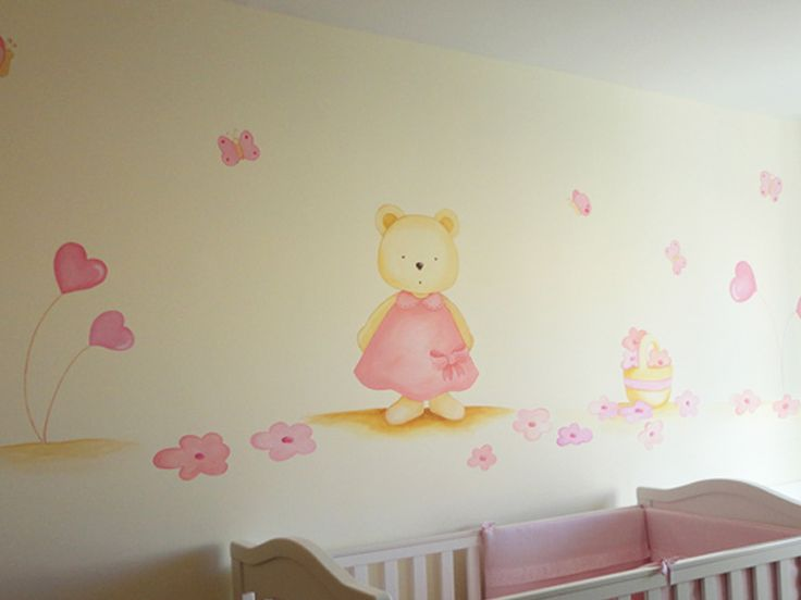 1000 images about murales infantiles en pinterest for Decoracion pared bebes
