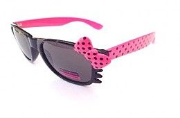 Cat style Womens Sunglasses with a bow