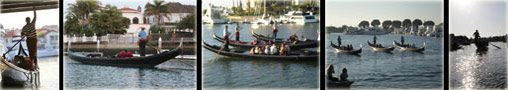 Sunset Gondola Ride in Huntington Harbour, Sunset Beach, Close to Long Beach, Newport, Groups, Weddings, Romantic Weekend Getaways, Gondola ...