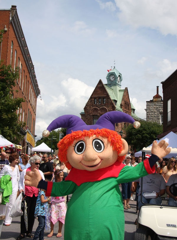 Puppets Up! is an annual two-day international festival devoted to the art of puppetry and the creation of fun held in Almonte, Ontario, Canada each August.