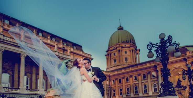 Budapest wedding, Hungary