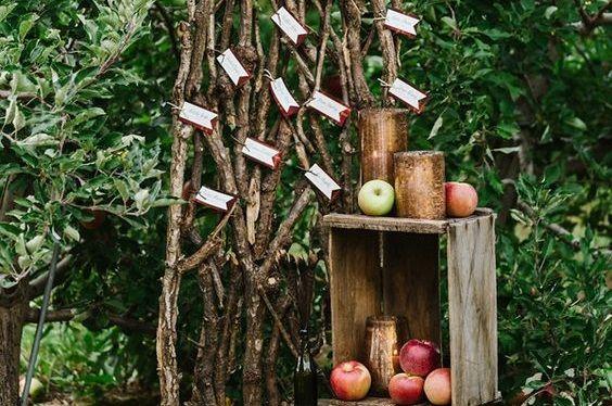 10 plans de table qui respirent la nature pour un mariage d'automne