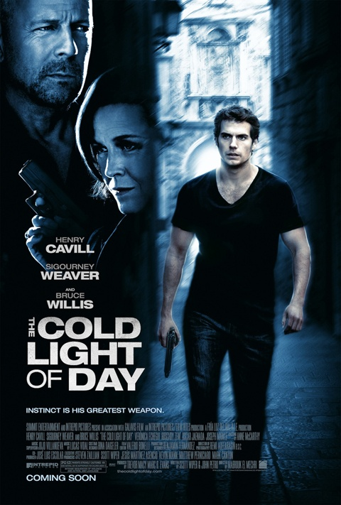 Henry Cavill - US Release 9-7!Cold Lights, Bruce Willis, Trav'Lin Lights, Henry Cavill, 2012, Movie Reviews, Watches Movie, Sigourney Weaver, Movie Trailers