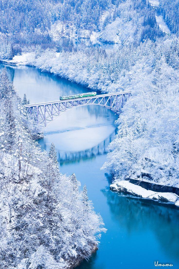 只見第一橋梁 Fukushima, Japan