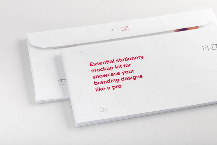 Letterhead Envelope Mockup 01 by Original Mockups on @originalmockups