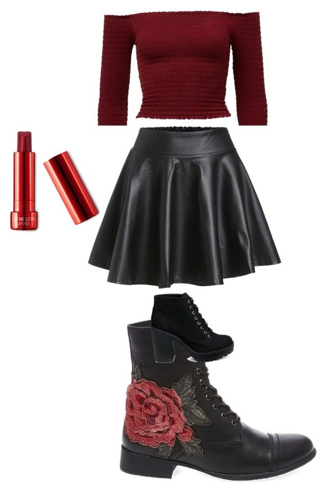 """""""Untitled outfit number 22"""" by th3futur3isf3mal3 on Polyvore featuring Steve Madden"""