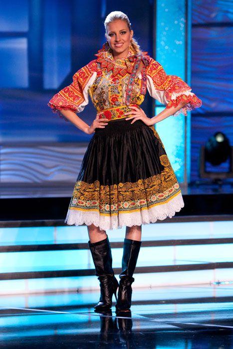 Traje Típico de Miss República Eslovaca