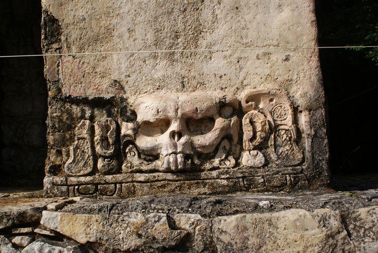 Calavera, Ruinas de Palenque Chipas.