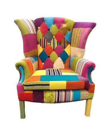 Bespoke Wing Back Armchair Designer by CraftyPatchworkMargo