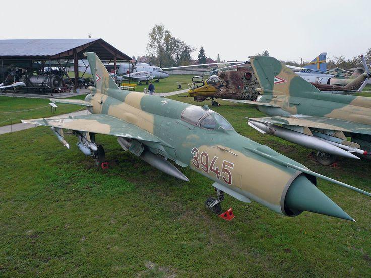 MiG-21MF Air Museum Szolnok,Hungary