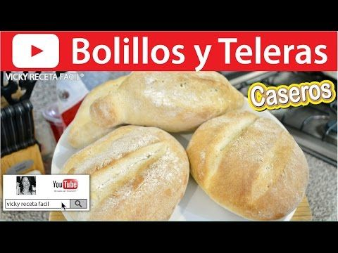 Pan bollo / facil y economico echo en casa - YouTube