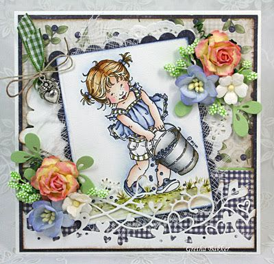 Het kaartenhoekje van Gretha: Mo Manning Blueberry Girl