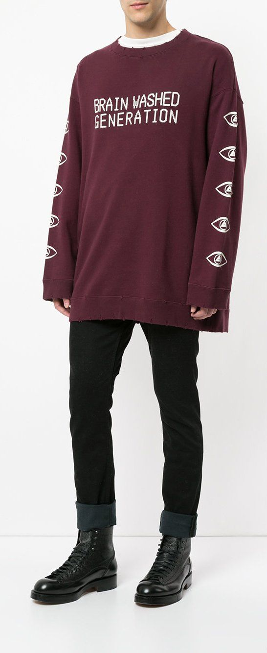 0930dd10b3a Undercover Brainwashed Generation Sweatshirt